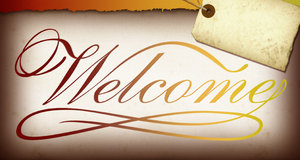 Welcome Banner 2: Variations on a welcome banner.