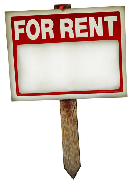 For Rent Sign 1: A couple of variations on a vintage for rent sign. Visit me at Dreamstime: 