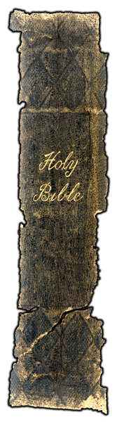 Old Bible: Spine of a vintage Bible.Please visit my stockxpert gallery:http://www.stockxpert.com ..