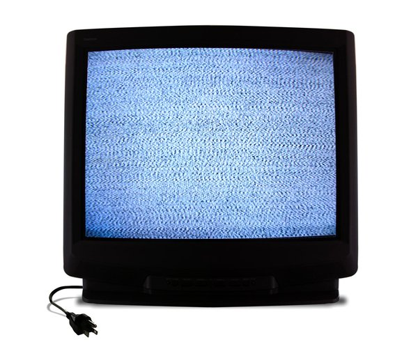 Spooky TV - Ghost Static: I found a TV channel that was all fuzz and it reminded me of the movie poltergeist, remember how the little girl would sit in front of the TV and it would run ... even when unplugged? :-)