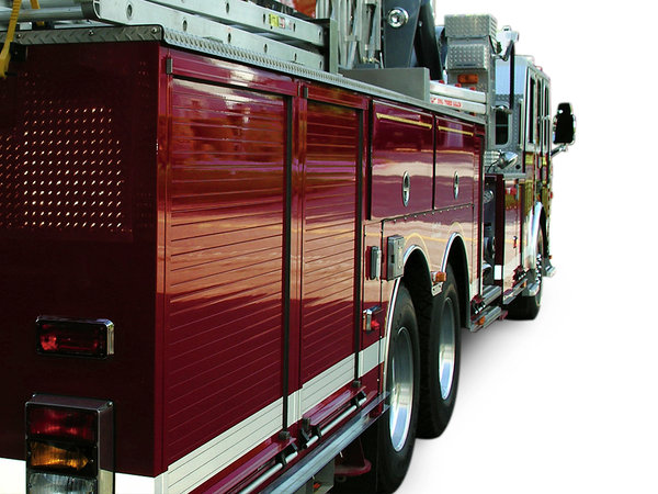 Fire Truck: I did some photo work to help out a local volunteer fire company, this was one of the