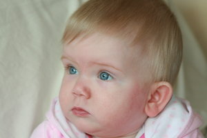 baby-lishis: my granddaughter freya, she is 9 months, isnt she gorgeous, she is my baby-lishis, lol,