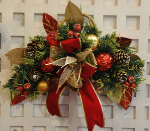 a christmas wreath: a Christmas Wreath