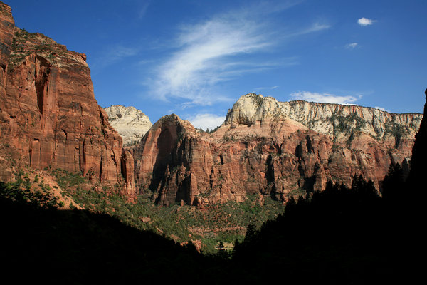Zion Landscape 1: Landscape of Zion national park