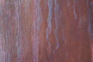 Copper Sheet: A sheet of copper, slightly weathered with a nice patina. The slight grain texture is present on the actual metal.