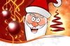 Old Santa Claus: Last year Santa Claus Background