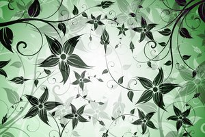 Floral Background: Vector floral background
