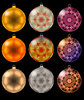 Christmas Baubles: Just some more for your virtual tree.