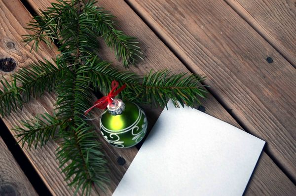 Letter or list: letter to Santa or present list
