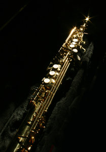 soprano sax: my soprano sax... looks better than it sounds...