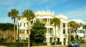Colonial House: Colonial House in Charleston South Carolina