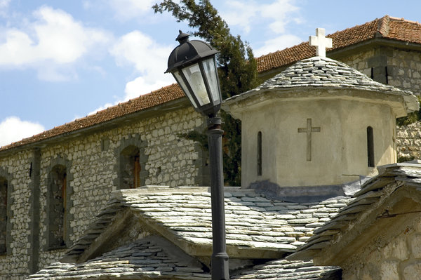 spileo_grevena_church: the rocks near village of Spileo Grevena is suitable for climbing