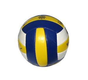 volleyball ball: none