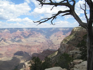 Colours in the Grand Canyon: The Grand Canyon on a summer's day, beautiful