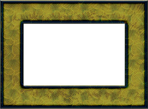 Green frame: Rectangular greenish frame