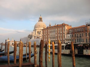 venice at sunset: none