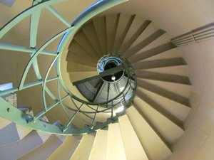 spiral staircase: none