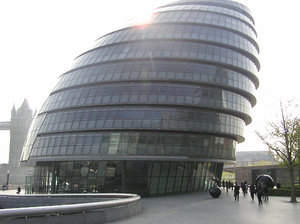 City Hall: City Hall is the headquarters of the Greater London Authority (GLA) which comprises the Mayor of London and London Assembly.