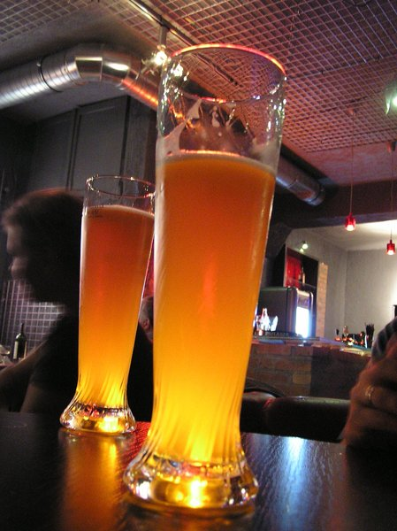 A beer in a pub: Beer. Wheat one, as you see. Delicious!Please comment this shot or mail me if you found it useful. Just to let me know!I would be extremely happy to see the final work even if you think it is nothing special! For me it is (and for my portfolio).