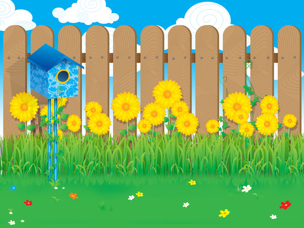 garden: This is a rendered vector art. Tell me what you think about this one :)