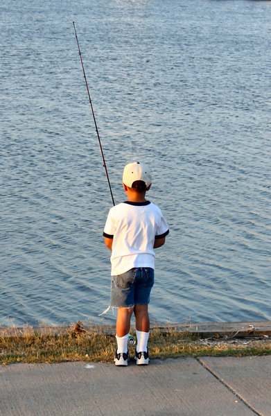 Little Boy: Fishing