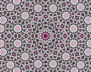 pink & white daisy lace: abstract backgrounds, textures, patterns, kaleidoscopic patterns, circles, shapes and  perspectives from altering and manipulating images