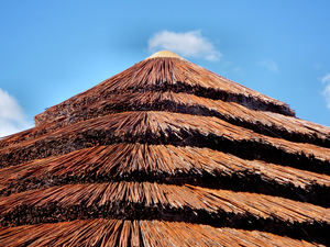 thatched patio roof2: trendy patio roof thatching