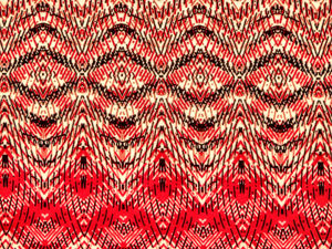 RWB fabric patterns1: red,white & black abstract line patterned fabric