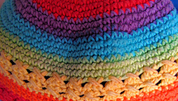 fabtex cap: colourful woolen fabric knitted cap