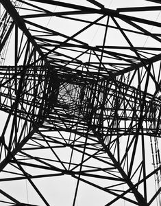 electricity pylons: electricity pylons close up