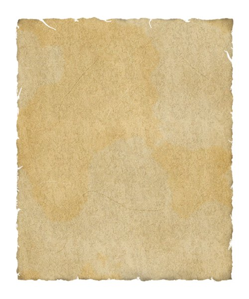 Ancient Parchment: Digitally rendered ancient parchment.