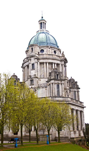Ashton Memorial: The Ashton Memorial, Williamson Park, Lancaster, UK.