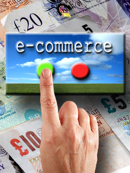 e-commerce: e-comerce internet concept