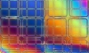 Glass Wall 3D: A 3d glass wall against a rainbow gradient. Great hi-res render for your projects.