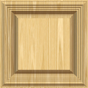Timber Frame and Background: A timber frame, panel or background in a pale coloured wood.