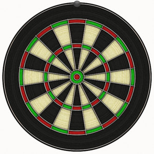 Dartboard: A blank dartboard for you to add your own scores or word concepts.