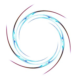 Swirl: A circular swirl for frames, backgrounds or textures.