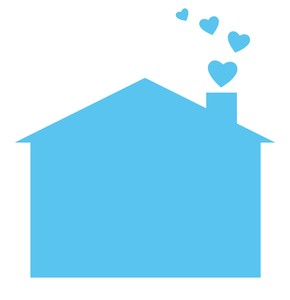 Happy Home 9: A pictogram of a house with love heart shaped smoke coming out of the chimney. You may prefer:  http://www.rgbstock.com/photo/dKTsxE/Home+is+Where+the+Heart+Is  or:  http://www.rgbstock.com/photo/2dyWqc5/House+1  or:  http://www.rgbstock.com/photo/dKTxor/