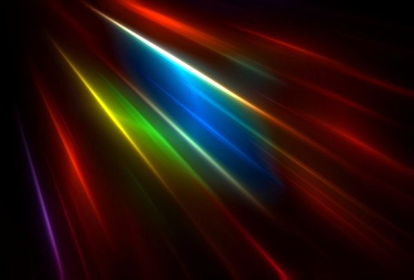 Flare 10: Multi-coloured flare suitable for backgrounds, fills,textures, or to illustrate states of mind, science fiction, time warps, speed, etc.