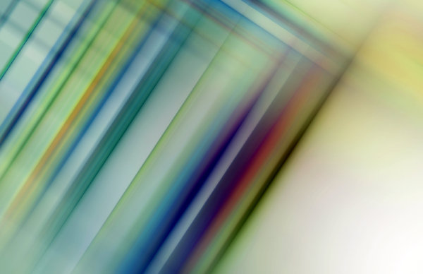 Blurred Background Lines 3: A geometric or lined background, fill, texture or element in blue, green, yellow, red and purple.