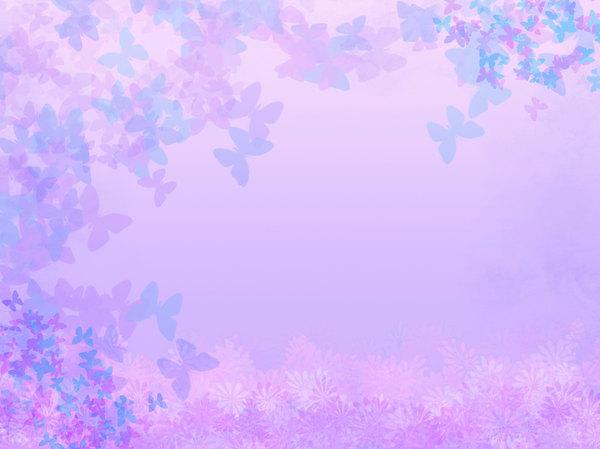 Light Blue Aesthetic Pastel Flowers