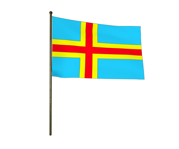 Flags-Aland Islands