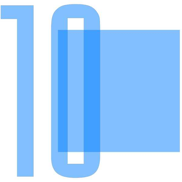 Number Background 10