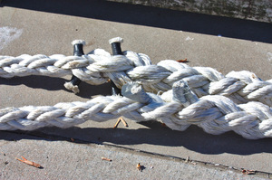 Mooring lines: Rope for mooring boats