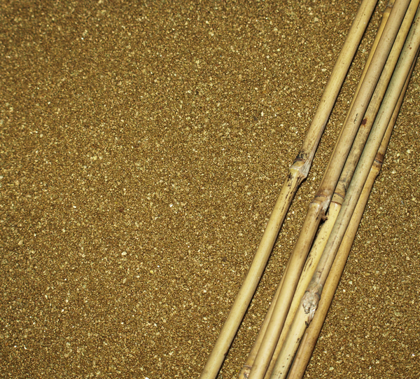 Bamboo And Sand Background