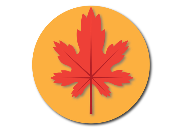 . . . Maple leaf . . .