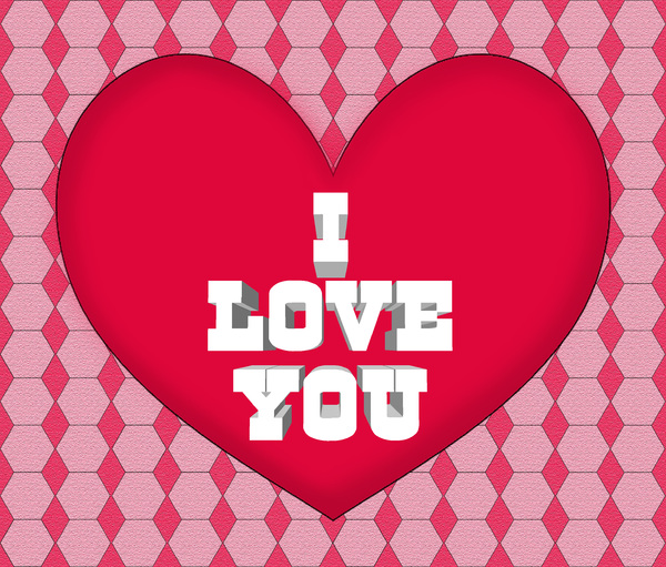 I love you valentine