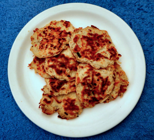 potato rostis1: fried potato patties or fritters
