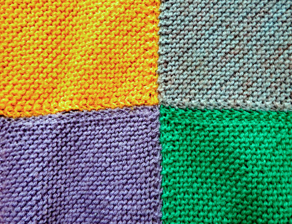 knitted patchwork blankets5