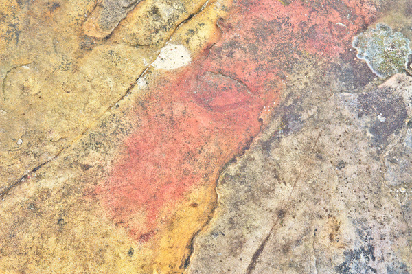 Red/yellow rock texture